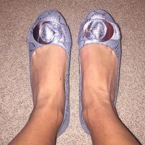 Dr. Scholl's Silver Flats